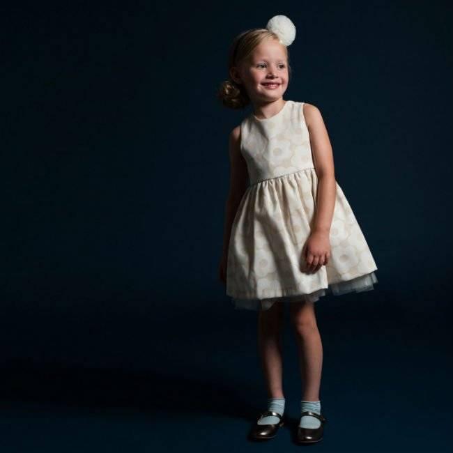 hucklebones london buttercup jacquard almond dress fw14