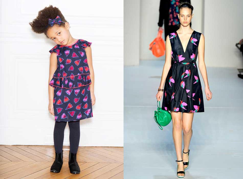 little marc jacbos girl fall winter 14 heart dress