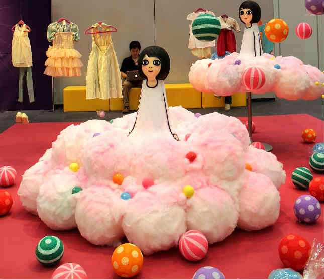 playtime tokyo cotton candy trend space