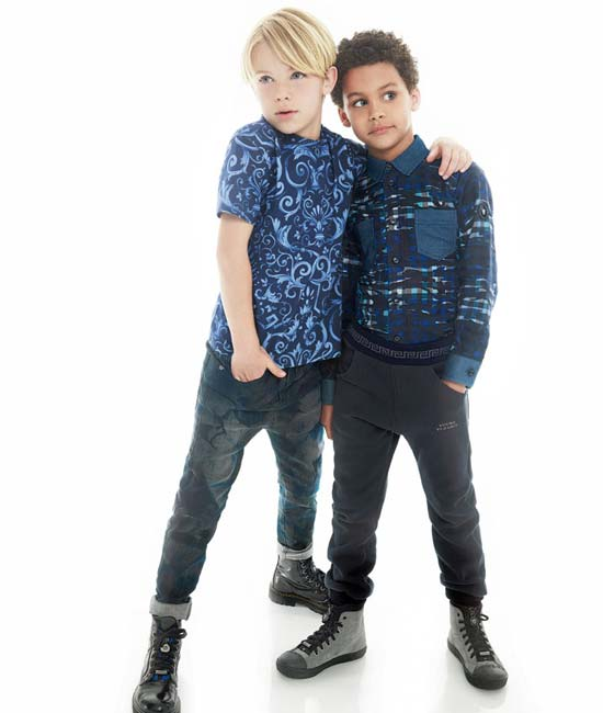young versace boys holiday 2014 collection
