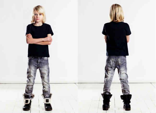 Idigdenim ALABAMA Grey Denim Jeans
