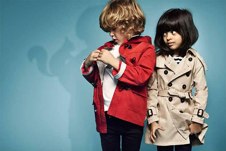 BURBERRY Childrens Designer Clothes SS15