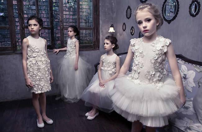Mischka Aoki Spring Summer 2014 White Dresses