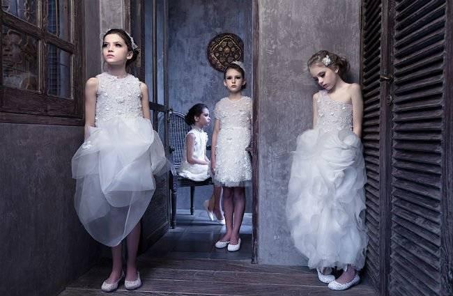 White Mischka Aoki Dress SS14