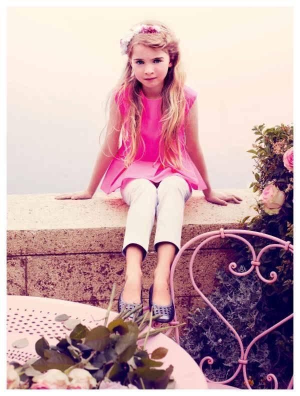 girls dior pink dress