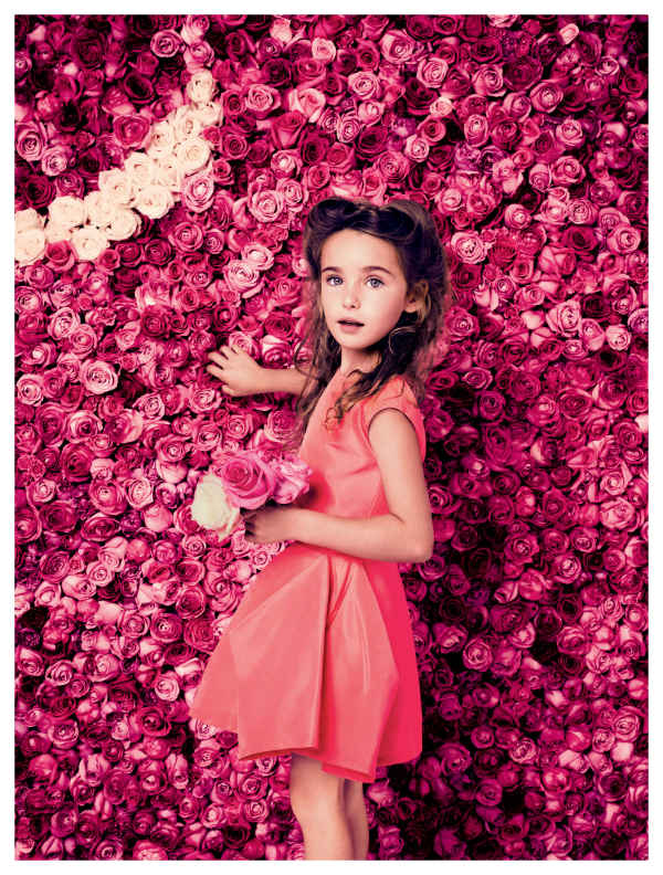 baby dior red summer dress 2014