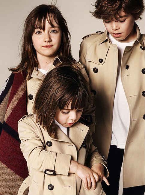 burberry kids fall winter 2014 collection