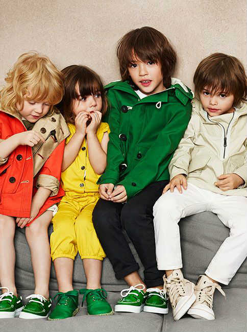 burberry kids spring summer 14 collection