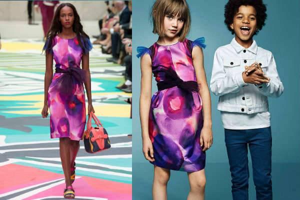 burberry kids ss15 mini me dress