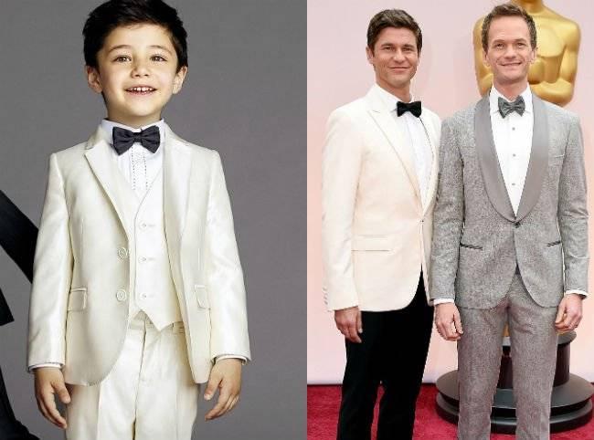 dolce Gabbana Boys Suit Oscar 2015