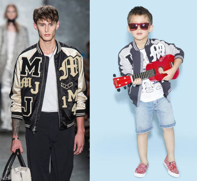 little marc jacobs boys mini me jacket ss15