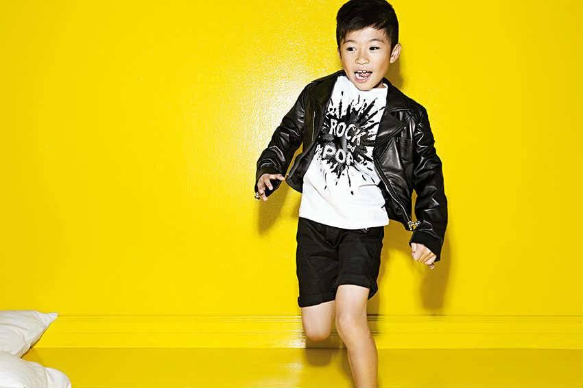 young versace boy designer summer clothes