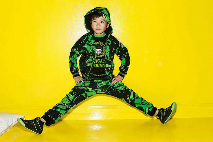 young versace boys cool streetwear outfit