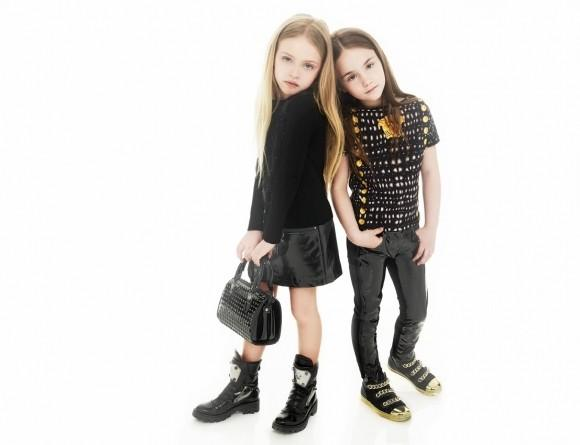 young versace designer girls clothes