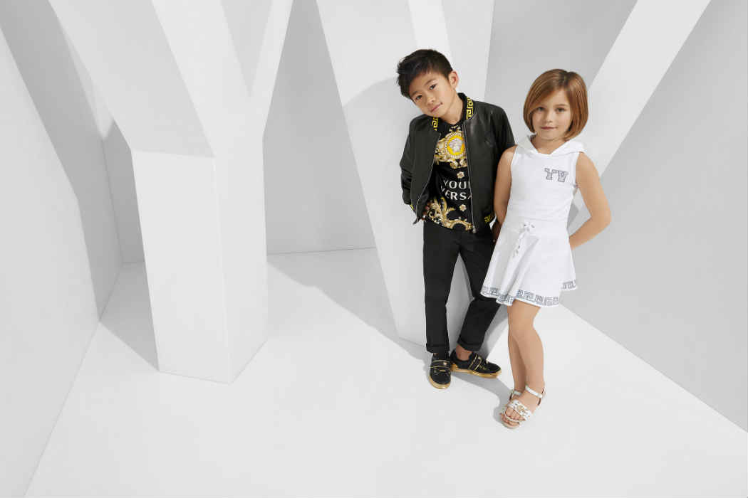The young versace spring summer 2015 collection is full of fun