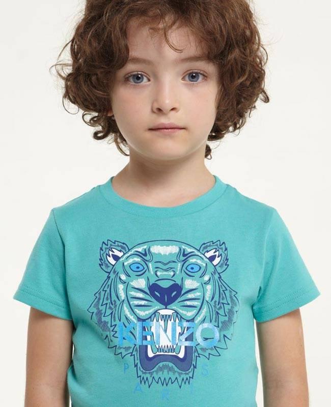 Kenzo boys tiger shirt ss15