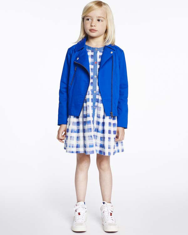 SS15-Paul-Smith-Junior-girl-blue-check-outfit