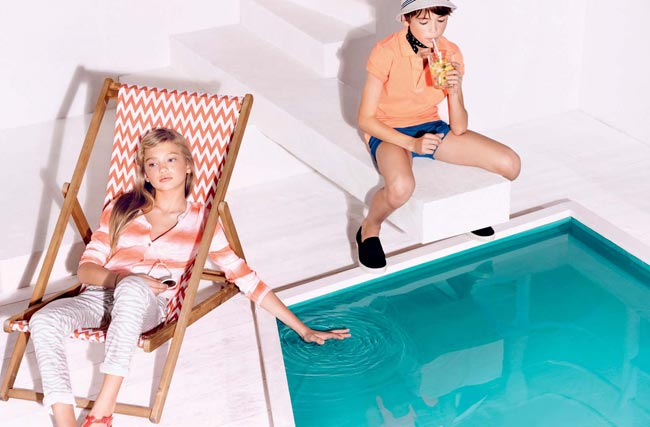 catimini ss15 poolside collection