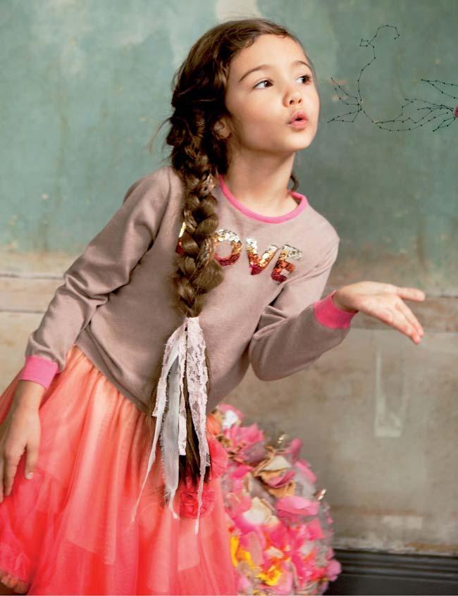 ilovegorgeous ss15 shiny love jumper sunset shirt pink