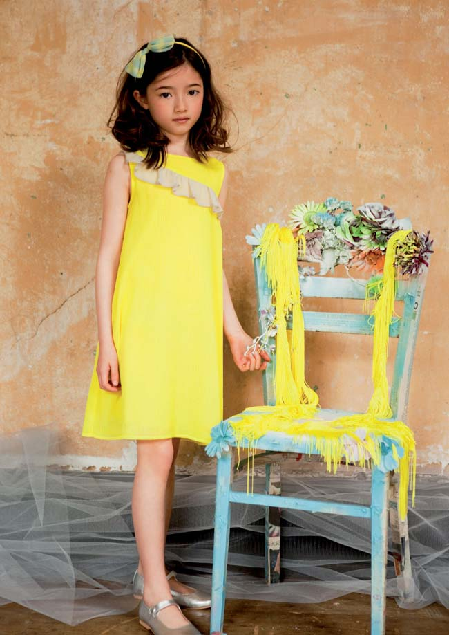 ilovegorgeous ss15 studio 54 dress yellow