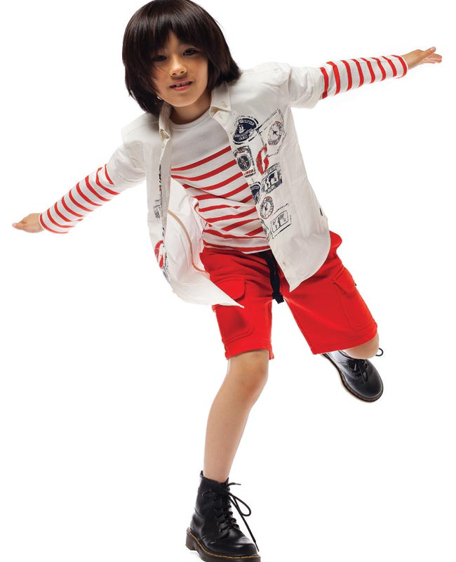 junior-gaultier-boys-red-white-striped-outfit-ss15