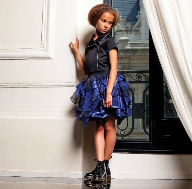 junior-gaultier-girls-blue-dress-ss15