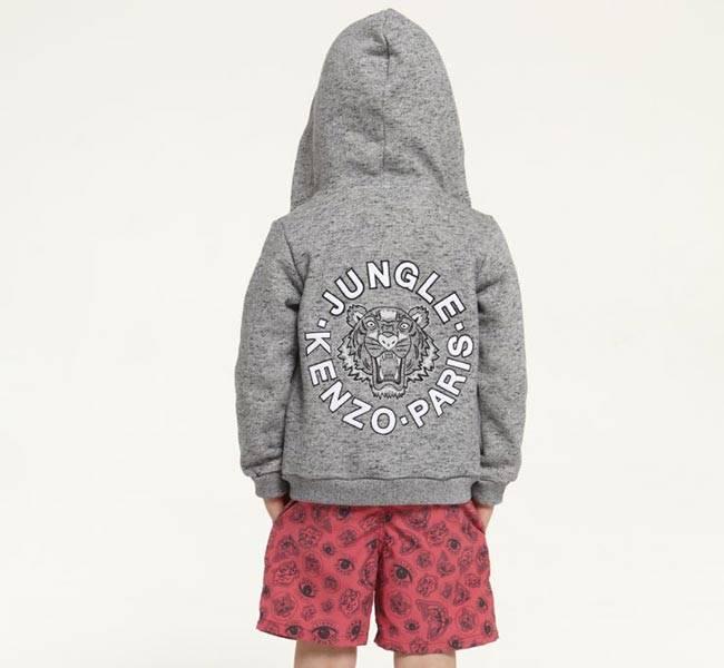 kenzo paris boys jungle sweatshirt ss15