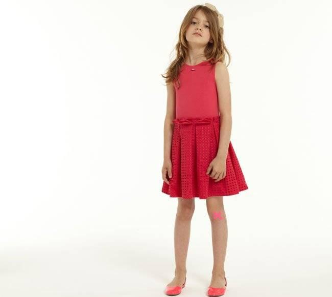 lili-gaufrette-ss15-girls-red-dress
