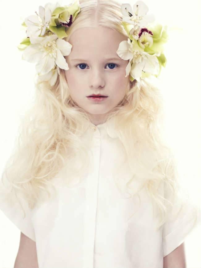pale cloud spring summer 2015 girls white blouse
