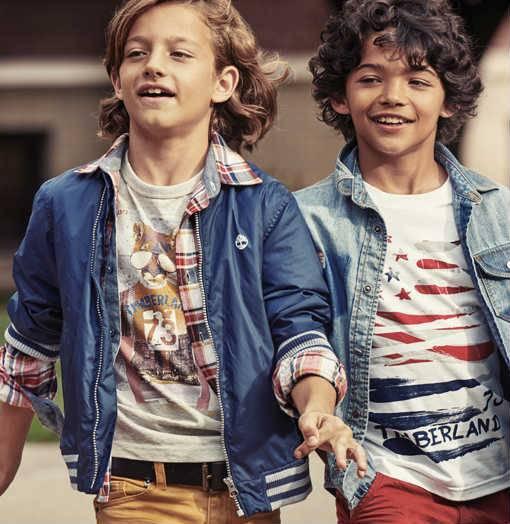 timberland boys graphic tshirts