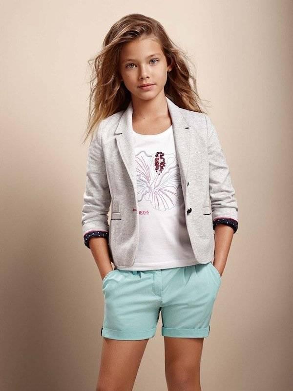 boss girls ss15 girls hibuscus shirt jacket ss15