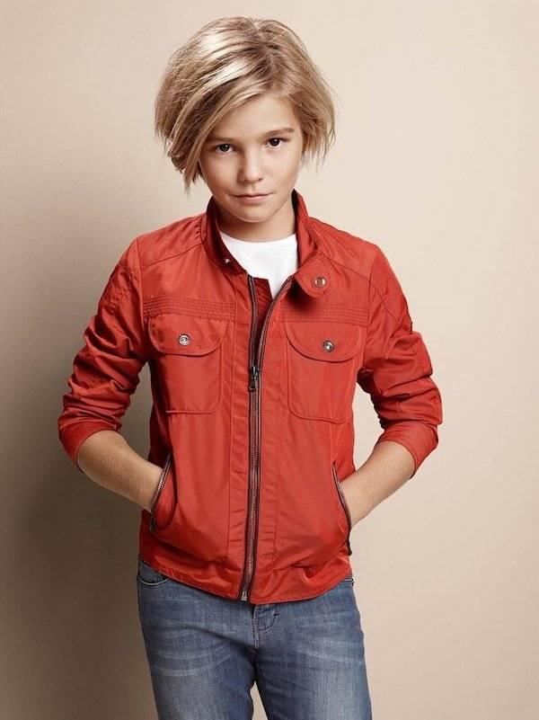 boss kidswear boys ss15 orange jacket