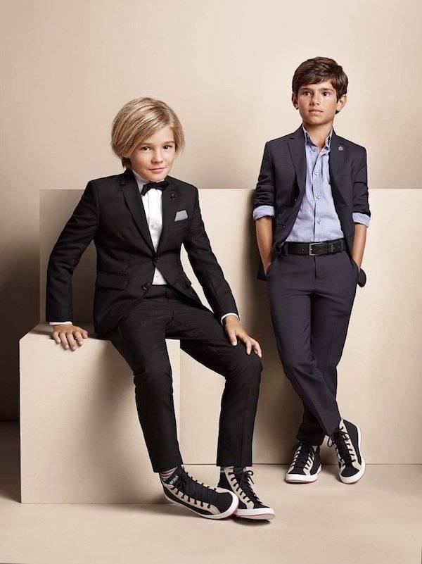 hugo kidswear boys ss15 suits