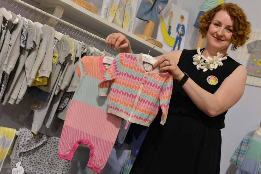 Bonnie Baby Spring Summer 100% Organic Light Weight Knitwear