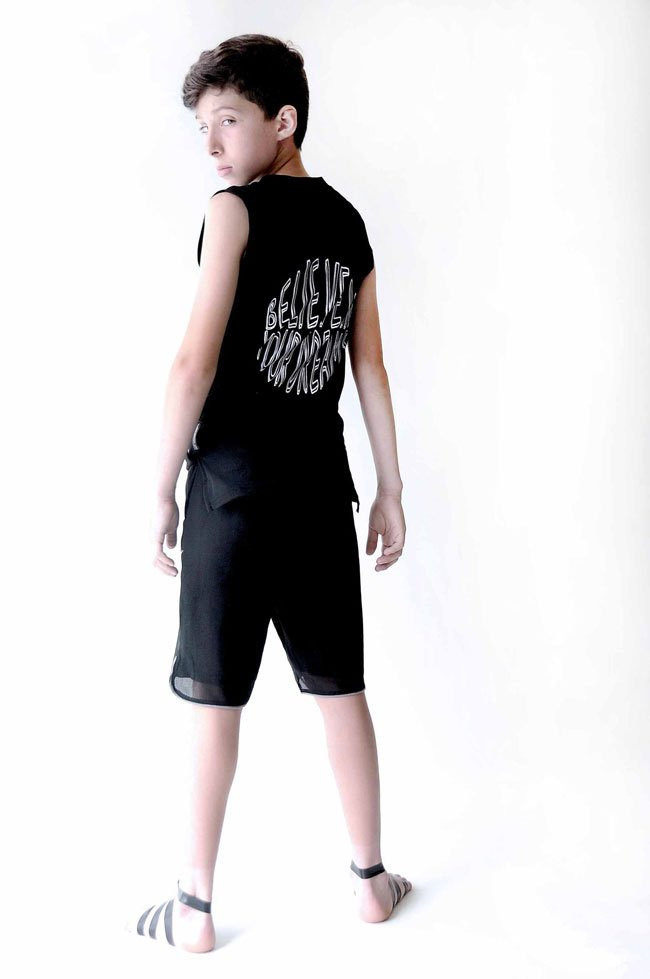 Loud Apparel Boys Collection Modeled by Serenas Son Zion
