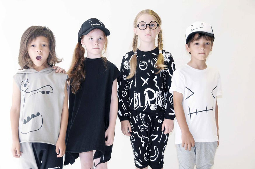 Loud Apparel Spring Summer 2015 Kids Collection