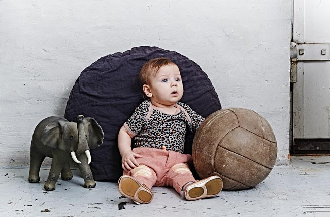 Petit by Sophie Schnoor Baby Girls Leopard Outfit