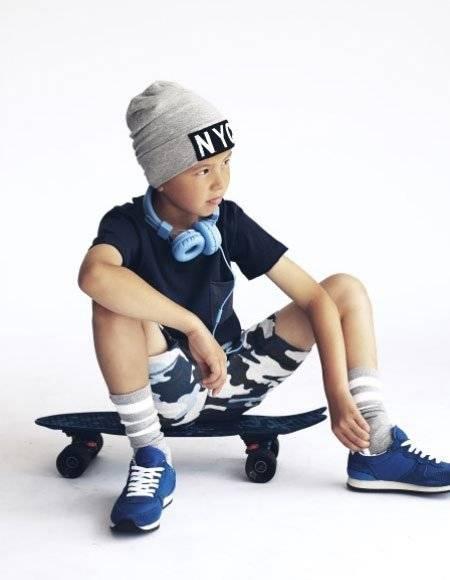 Petit by Sophie Schnoor Boys Skater Look