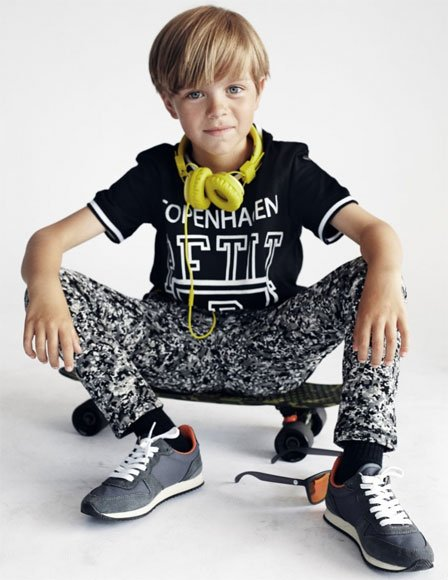 Petit by Sophie Schnoor Boys Skater Outfit
