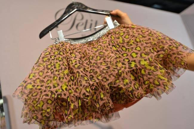 Petit by Sophie Schnoor Tulle Animal Print Tutu Skirt