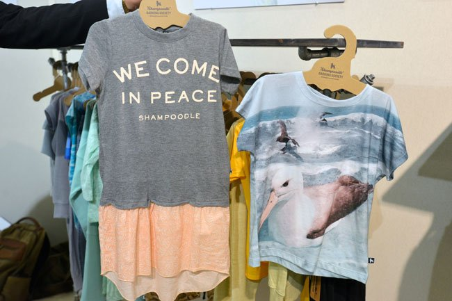 Shampoodle We Come in Peace The Ocean Tshirt