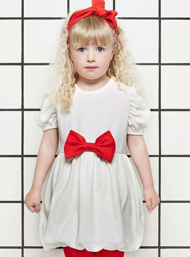 Tiny Universe White Red Dress