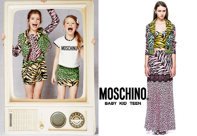 Moschino Cheap & Chic Spring-Summer-2015 Animal Print Outfit