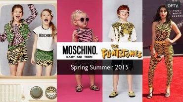 Moschino Flintstones Spring Summer 2015 Collection