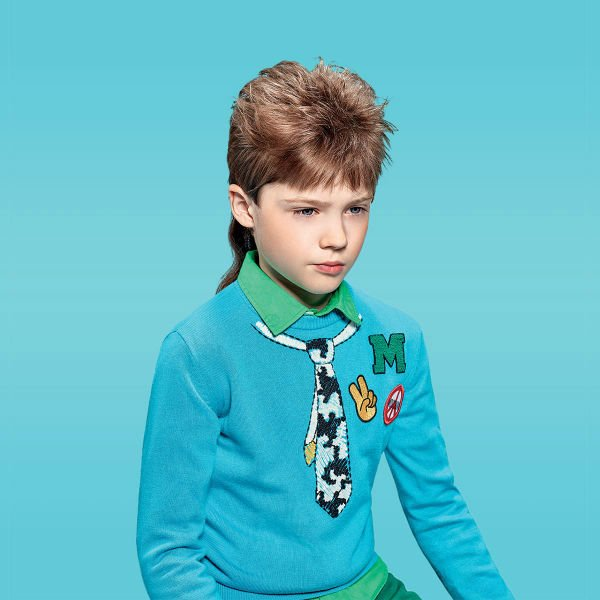 Moschino Boys Fall Winter 2015 Boys Sweater