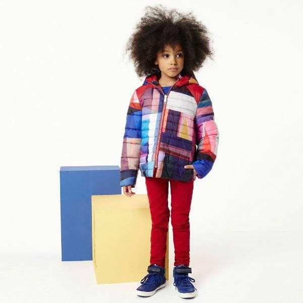 Paul Smith Junior Girls Reversible Josephine Padded Coat