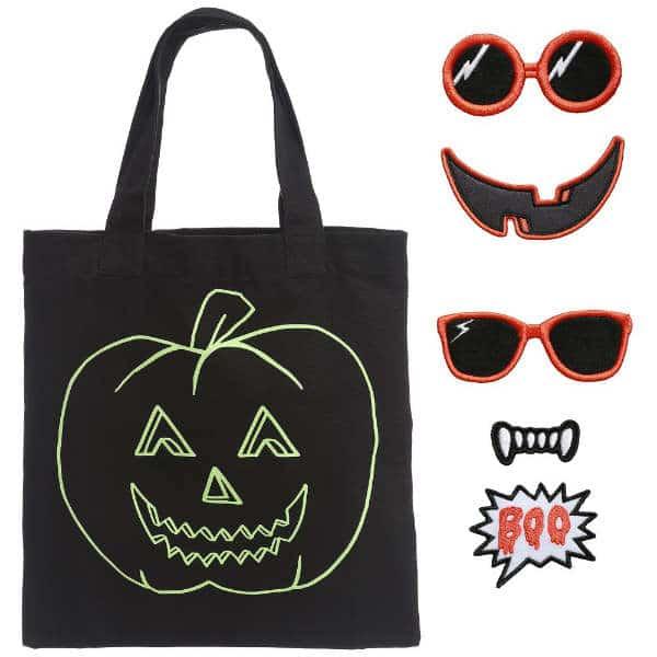 Stella McCartney Kids Black CottonTrick or Treat Bag