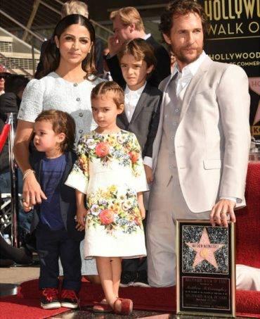 Matthew McConaughey Family Daughter Vida Dolce Gabbana