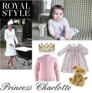 Princess Charlotte 6 Months Royal Style
