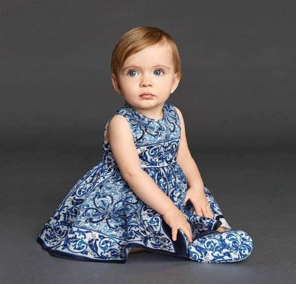 dolce-and-gabbana-baby-Majolica-Brocade-Dress
